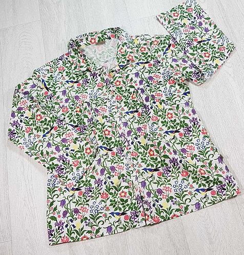 The Shop colourful blouse. Size M