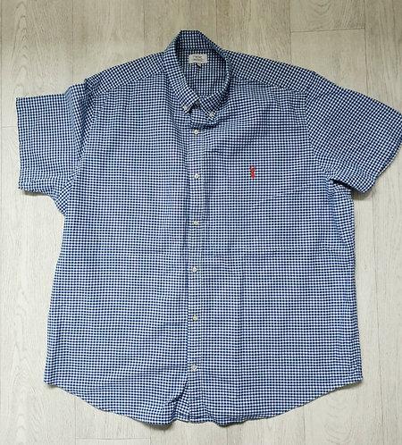🐺Next blue gingham shirt. Size 3XL