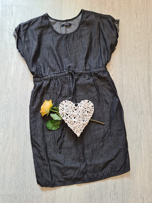 💐George Denim look Maternity dress. Size 12