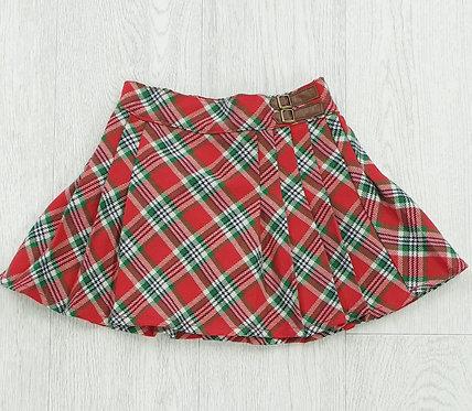 Tu check skirt. 2-3yrs