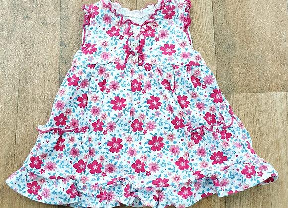 George floral dress. 0-3m