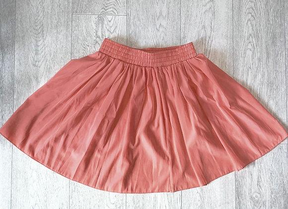 American Apparel coral skirt.