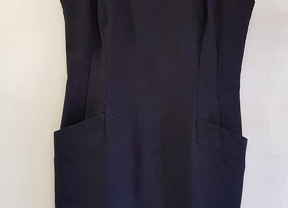 Black linen dress. Size 12