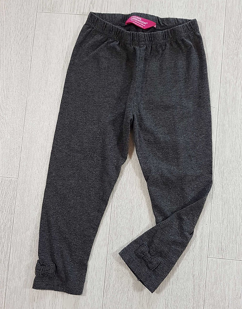 ◾Young Dimension grey leggings with bows. 2-3yrs