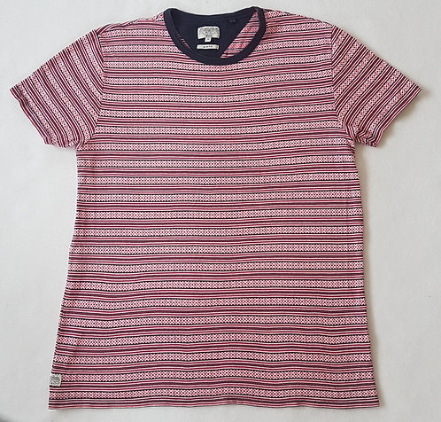 NEXT. Red patterned short sleeve top.
