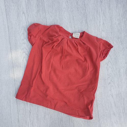 🐦Zara coral Tshirt. 3-4yrs