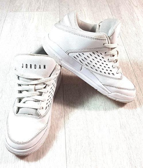 ◽Nike Jordan white high top trainers. Size 12