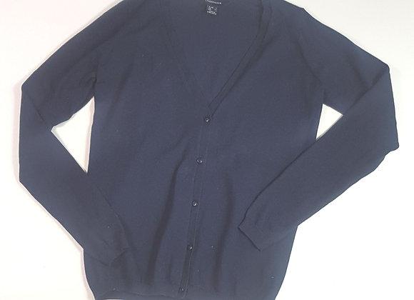 ATMOSPHERE navy knit cardigan. Size 6