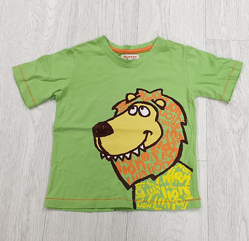 Bluezoo green lion t-shirt. 18-24m