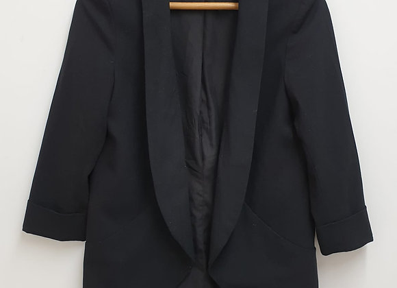 Banana Republic black open jacket. US 4