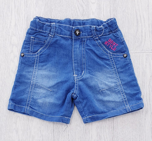 Best Style denim shorts. 3yrs