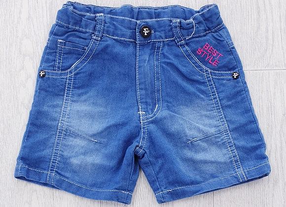 Best Style denim shorts. 3yrs