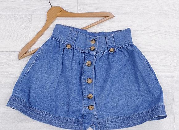 Denim Co button up skirt. Uk 8