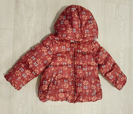 M&Co floral winter coat. 18-24m
