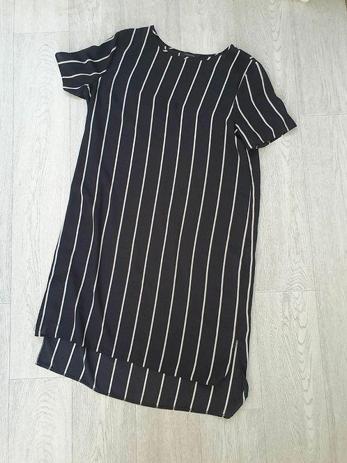 ⚫Atmosphere black chiffon dress. Size 16