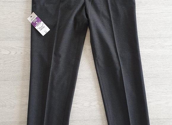 Burton grey skinny suit trousers. 30S