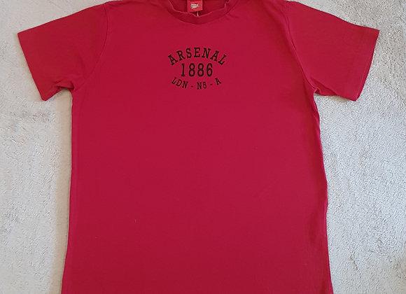 Arsenal. T-shirt 1886 print. Age 11-12yrs.