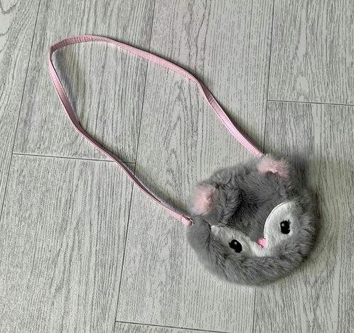 🌻H&M fluffy children's shoulder purse.
