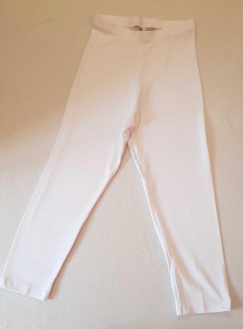 TU White cropped leggings. 8-10yrs