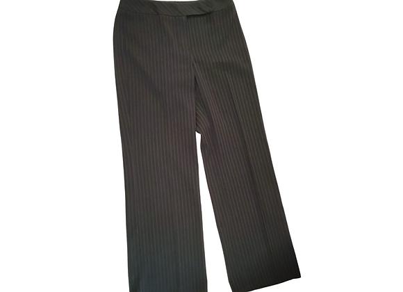Amaranto pinstripe trousers. Uk 12