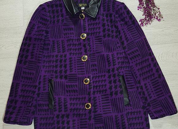 ✴Bob Mackie soft purple coat