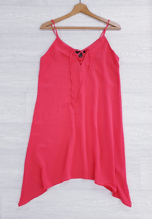 Atmosphere bright coral strappy cami. Size 12