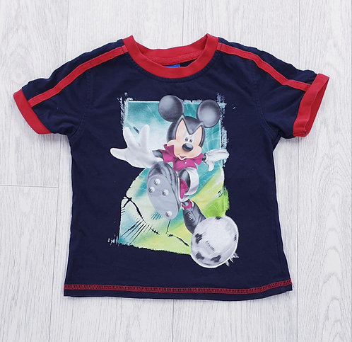 🦝George Mickey Mouse t-shirt. 1-1½yrs