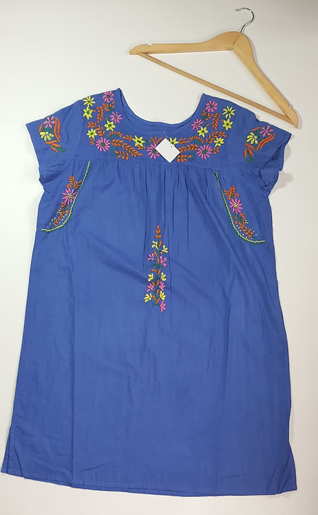 Museum Selection blue tunic. Size M
