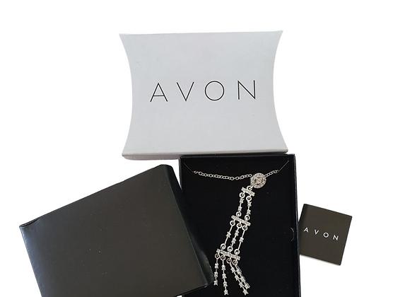 Avon chandelier necklace NWT
