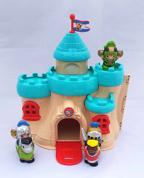 Grow Play knights castle play set