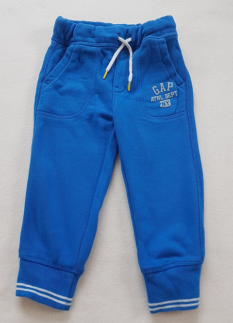 GAP. Blue joggers. Size 2 years. Keep away from fire.