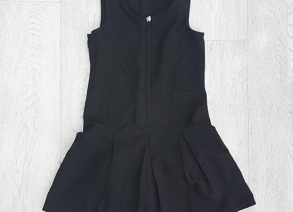 🐦Back To School black dress with heart zip.