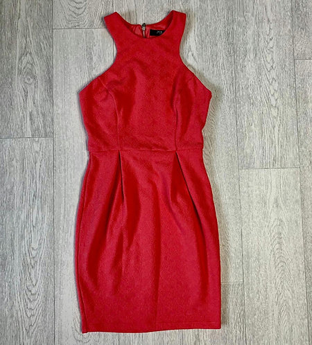 ❤Jane Norman coral textured dress. Size 8