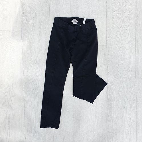 🐦H&M thick black leggings. 7-8yrs
