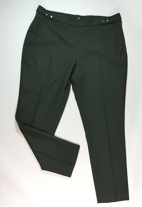 F&F dark green textured tapered trousers. Size 16