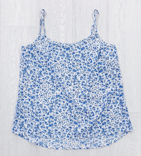 Atmosphere camisole with blue flowers. Uk 12