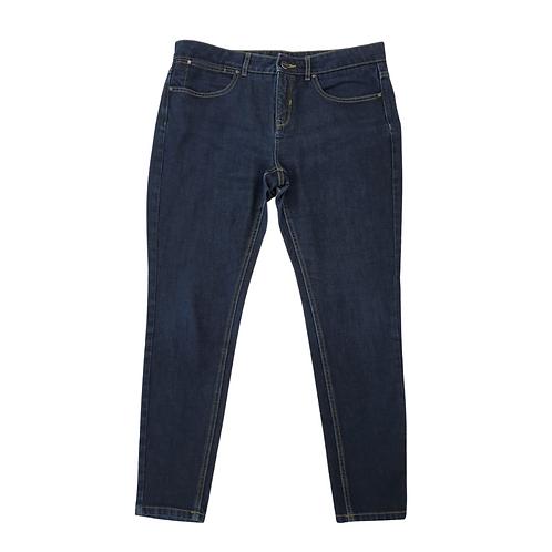 Autograph dark rinse skinny jeans. Uk 18