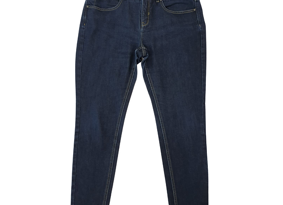 Autograph dark rinse skinny jeans. Uk 14