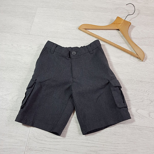 George grey school shorts 3-4yrs