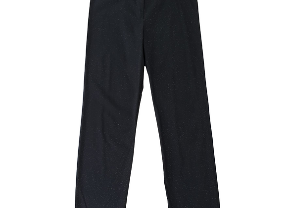 C&A black sparkly vintage straight leg  trousers.