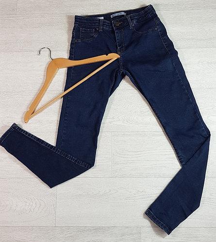 Bershka dark rinse skinny push up jeans. Euro 38