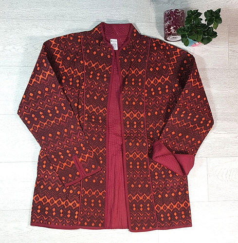The Shop burgundy easy fit jacket. Size M