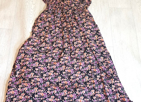 🔴Atmosphere floral strapless dress size 10