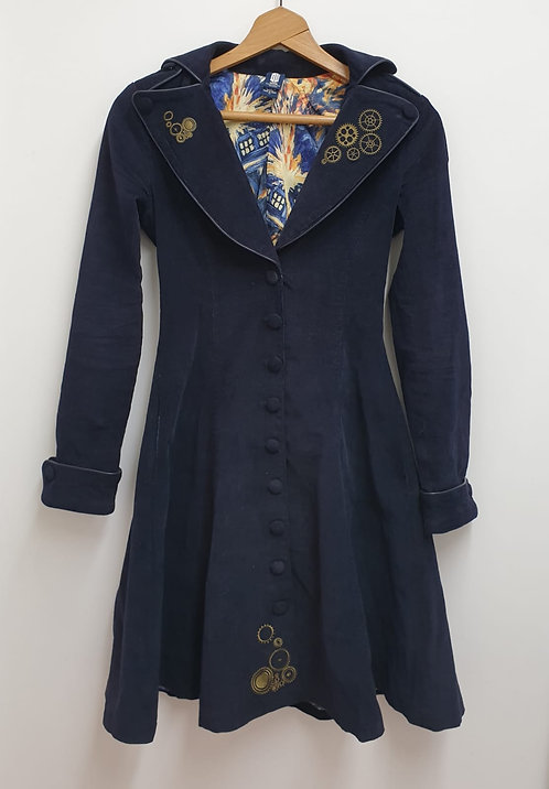 BBC Doctor Who navy jacket. Size XS