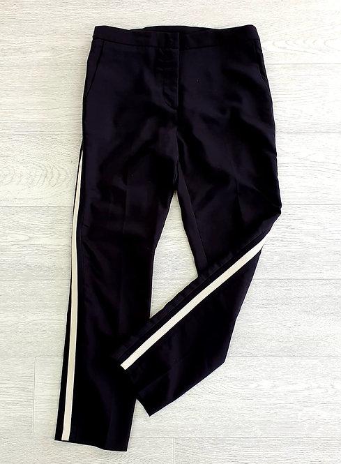 Zara Black tapered trousers size XL