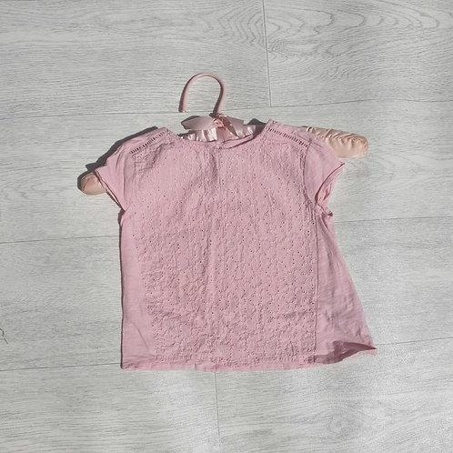 ⭐Zara pink top  18-24m