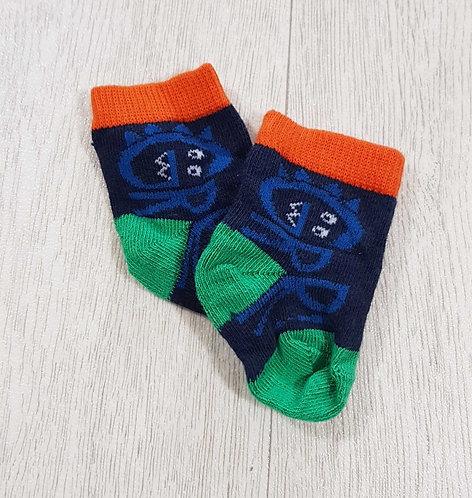 ◾Grrr socks. 3-6months