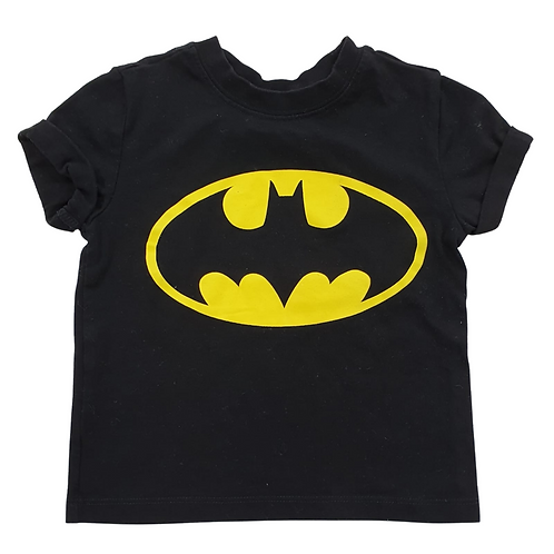 Batman black t-shirt. 3-4yrs