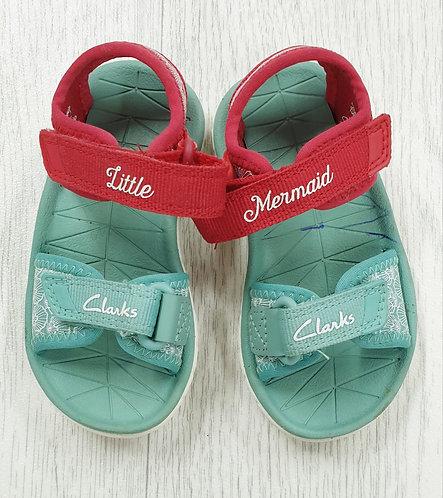 Clarks Little Mermaid sandals. Uk infant 5