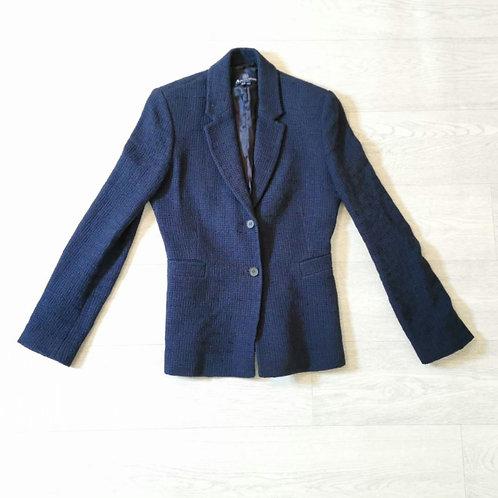 Aquascutum London navy jacket. Uk 8